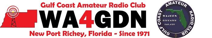 Gulf Coast Amateur Radio Club WA4GDN Logo